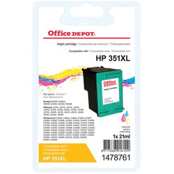 Office Depot Compatible for HP 351XL 3 Colours Ink Cartridge CB338EE