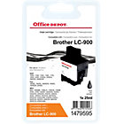 Office Depot Compatible Brother LC900BK Black Inkjet Cartridge