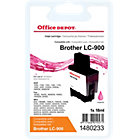 Office Depot Compatible Brother LC900M Magenta Inkjet Cartridge