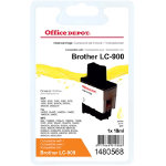 Office Depot Compatible Brother LC900Y Yellow Inkjet Cartridge