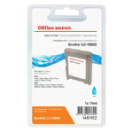 Office Depot Compatible Brother LC1000C Cyan Inkjet Cartridge