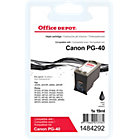 Office Depot Compatible Canon PG40 Black Inkjet Cartridge