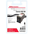 Office Depot Compatible Canon PG50 Black Inkjet Cartridge