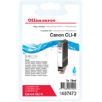 Office Depot Compatible Canon CLI 8C Cyan Cartridge