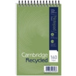 Cambridge Wirebound Notebooks Headbound 125 x 200