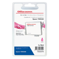 Office Depot Compatible Epson T055340 Magenta Inkjet Cartridge
