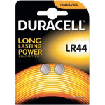 Duracell Coin Cell Alkaline Battery LR44 Pack of 2