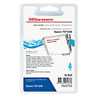 Office Depot Compatible Epson T071240 Cyan Inkjet Cartridge