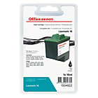 Office Depot Compatible Lexmark 16 Black Ink Cartridge 10N0016
