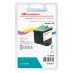 Office Depot Compatible Lexmark 26 Colour Ink Cartridge 10N0026
