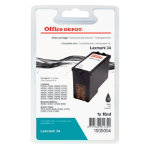 Office Depot Compatible for Lexmark 18C0034E Black Ink Cartridge