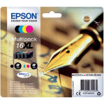 Epson 16XL Original Ink Cartridge C13T16364012 Black 3 Colours Multipack