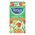 Tetley Mango Green Tea Bags 25 Pieces