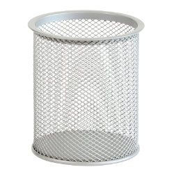 Office Depot Executive Mesh Pencil Cup Silver