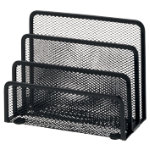 Office Depot Executive Mesh Mini Sorter Black