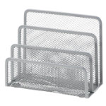 Office Depot Executive Mesh Mini Sorter Silver