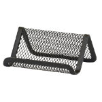 Office Depot Executive Mesh Business Card Holder Black