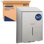 Kimberly Clark Professional Hand Towel Dispenser Stainless Steel Silver