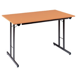 rs togo Stackable folding Table H735 x W760 x D1525mm Beech