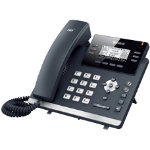Yealink Corded Telephone T41PN Black