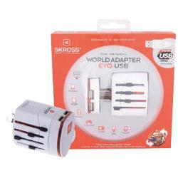 SKROSS World Travel Adapter World adapter EVO USB