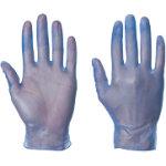 Supertouch Gloves Powder Free Vinyl Size L Blue Pack 100