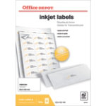 Office Depot Inkjet Labels H381xW635 21 Sheet 2100 Pk