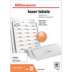 Office Depot Rounded Laser Labels H381xW635 21 Sheet 2100 Pk