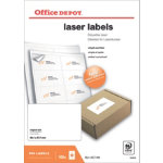 Office Depot Rounded Laser Labels H677xW991 8 Sheet 800 Pk