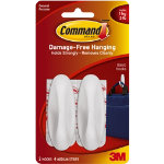 Command 2 Medium Designer Hooks Holds upto 135kg