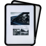 Tarifold Display Pocket Tview Magneto Black A4 Plastic