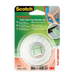 Scotch Mounting Tape Double Sided White