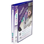 Snopake Executive Presentation Ringbinder A4 Purple