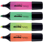 Niceday Highlighter HC1 5 Assorted Pack 4