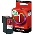 Lexmark 1 Original 3 Colours Inkjet Cartridge 018CX781E