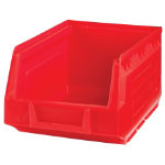 Storage Bins Red 148L x 235D x 125Hmm