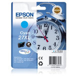 Epson 27XL Original cyan ink cartridge C13T27124010