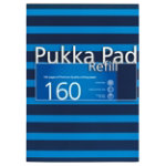 Pukka Navy Refill Pad A4 Blue Pack of 6