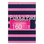 Pukka Navy Reporters Pad Pink Pack of 3