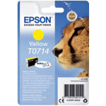 Epson T0714 Original Ink Cartridge C13T07144012 Yellow