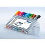 Staedtler Triplus fineliner pens assorted pack 20