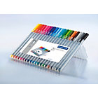 Staedtler Triplus fineliner pens assorted pack 20