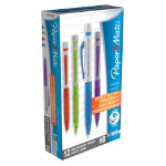 Papermate Infinite Lead Pencils Assorted 07mm Pack 12