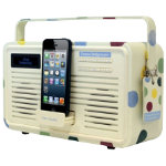 View Quest Emma Bridgewater DAB Retro Radio with 8 pin dock