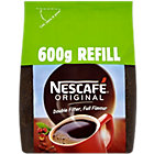 Nescafe Original instant coffee 600g refill pack