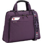 i stay 156 inch purple ladies laptop bag with i stay non slip bag strap