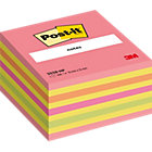 Post it Neon Pink Cube 76mm x 76mm 1 cube per pack