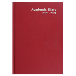 Niceday Academic Diary A5 Day a page Red
