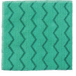 Rubbermaid Microfibre Cloth R050653 Microfibre Green