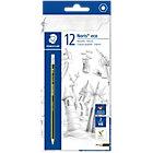 Staedtler Noris Eco HB Eraser Tip Pencil Pack 12